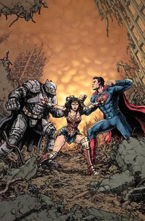 Portada alternativa de Batman v Superman