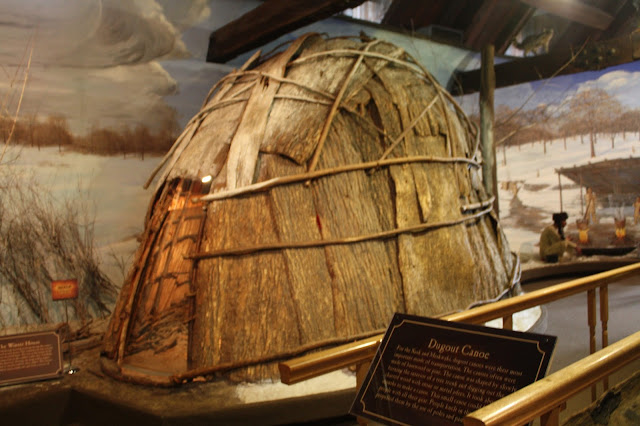 Sauk wigwam replica at Hauberg Indian Museum