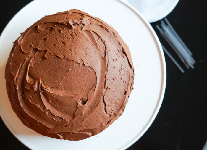 THIS IS IT! Our very favorite chocolate cake recipe...it's made with mayo!