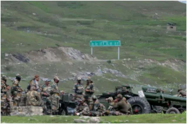الصراع الصيني الهند : مصادر الجيش الهندي المدرعات الصينية لاتزال موجودة !