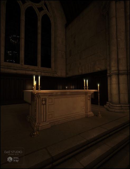 Sacrament Iray Addon