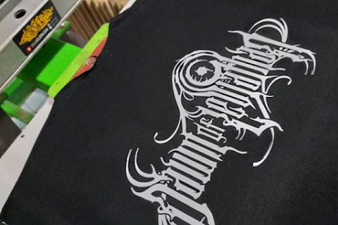 Sablon Kaos Rubber Satuan Dawn Logos