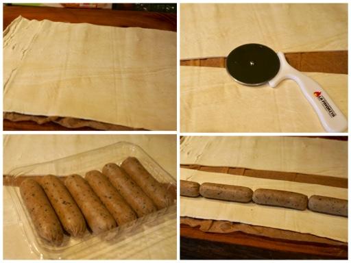 Fanny Cradock Picnic Sausage Rolls