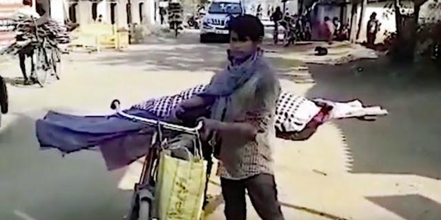 Dibawa Pakai Sepeda, Cerita Pemuda Kuburkan Ibu Ini Sentil Rasa Kemanusiaan