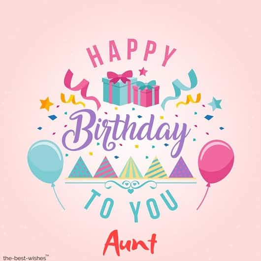 happy birthday wishes for maternal aunt