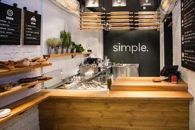desain cafe sederhana