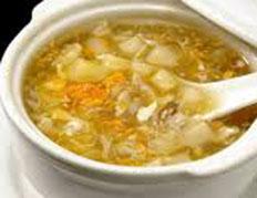 Resep praktis (mudah) sup asparagus spesial (istimewa) enak, lezat