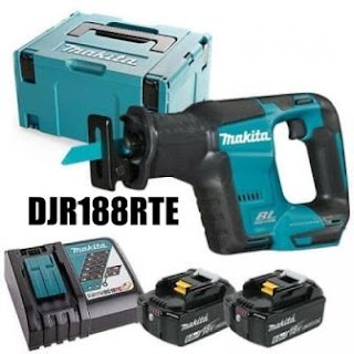 jual recipro saw cordles makita DJR188RTE , harga cordless saw djr 188rte, gergaji baterai makita  recipro saw makita, spesifikasi cordless recipro saw djr 188rte