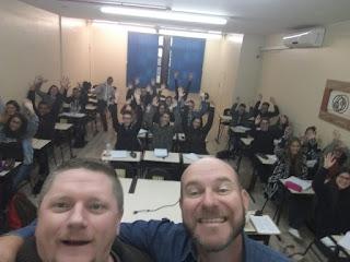Turma do curso Preparatório para o Enem – Blumenau 2018