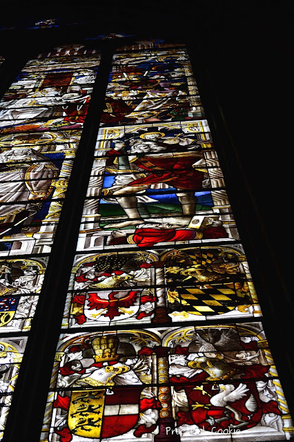 Inside the Kölner Dom - Stained Glass Windows