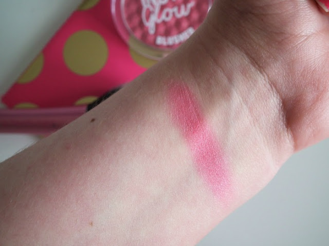 Miss Sporty Insta Glow Blush - Glowing Mauve Swatch