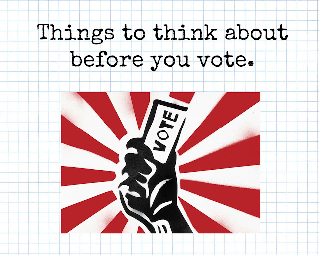 Things to think about before you vote. seondhandsusie.blogspot.com #votelabour #toriesout #booTheresaMay #YeyJeremyCorbyn