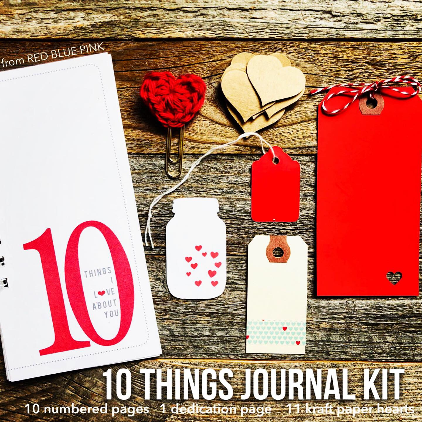 #Things I Love #Love Journal #Things I Love About You #10 Things