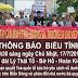 Thông báo biểu tình tại Hà Nội vào sáng ngày 17/7/2016