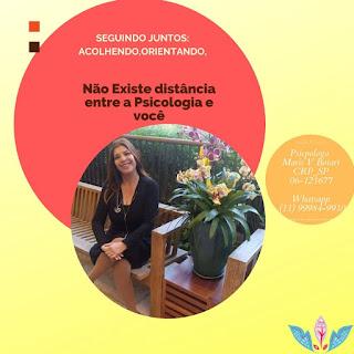 Psicóloga  em São Paulo; Acolhimento online ou presencial