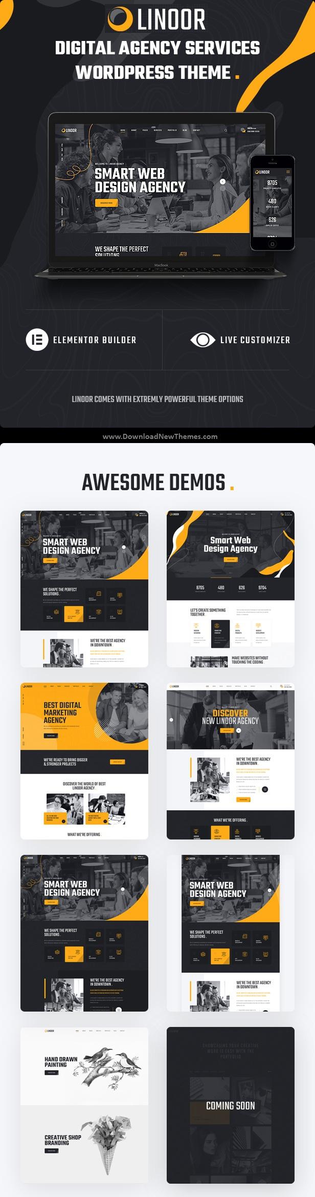 Digital Agency Services WordPress Theme
