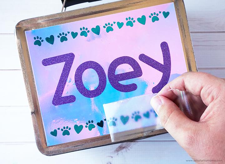 "DIY ""Puppy Love"" Lunch Box"