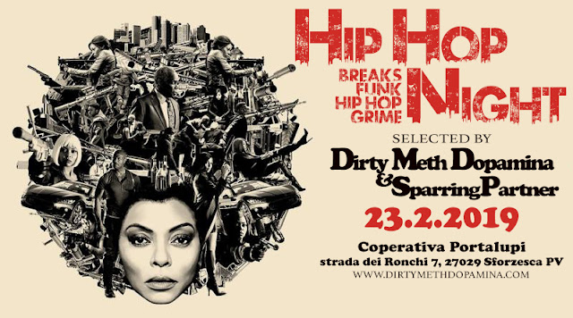 Dj Set hip hop Dirty Meth Dopamina