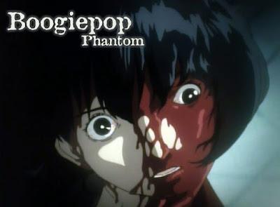 Imagem de cena do anime Boogiepop Phantom.