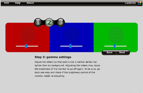 Calibrize - Programma gratuito per calibrare i colori del monitor in modo automatico