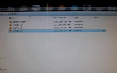 USB Drive Recycler Virus