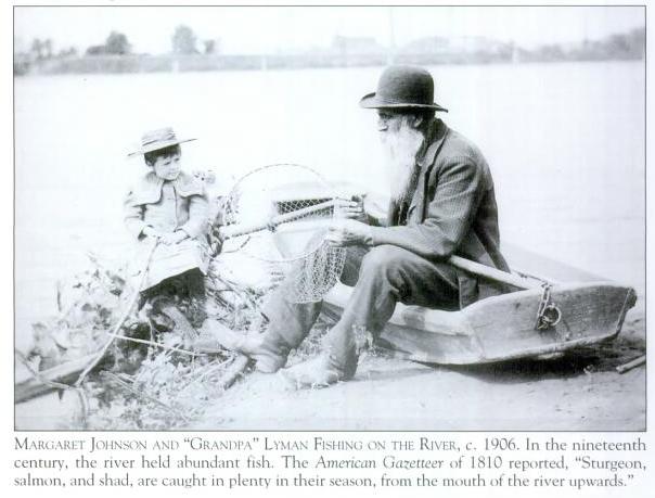 margaret johnson grandpa lyman connecticut river hockanum ferry 1906