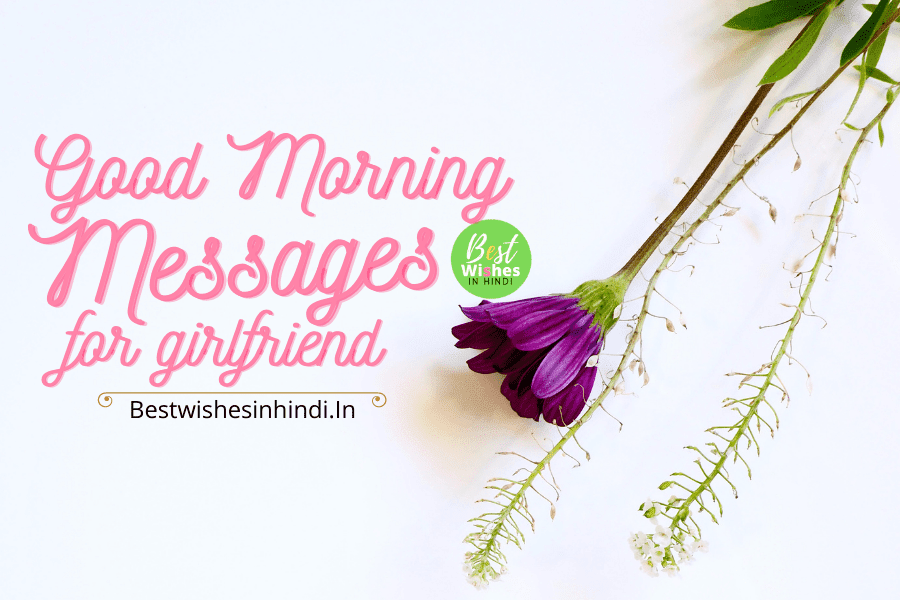 good morning messages for girlfriend in hindi, romantic good morning messages for girlfriend in hindi, Romantic good morning love messages for girlfriend, Romantic good morning SMS for girlfriend