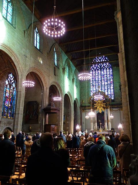 La messe du dimanche à l'Église Saint-Germain de Rennes (17 Janvier 2021)