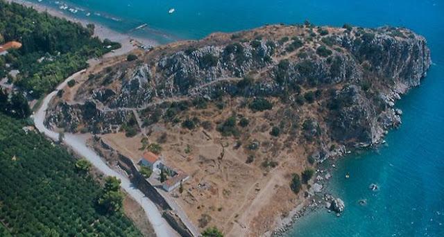 Ξεκίνησαν από την ΔΕΥΑ Ναυπλίου οι εργασίες πυροπροστασίας του Αρχαιολογικού χώρου στο Καστράκι Ασίνης