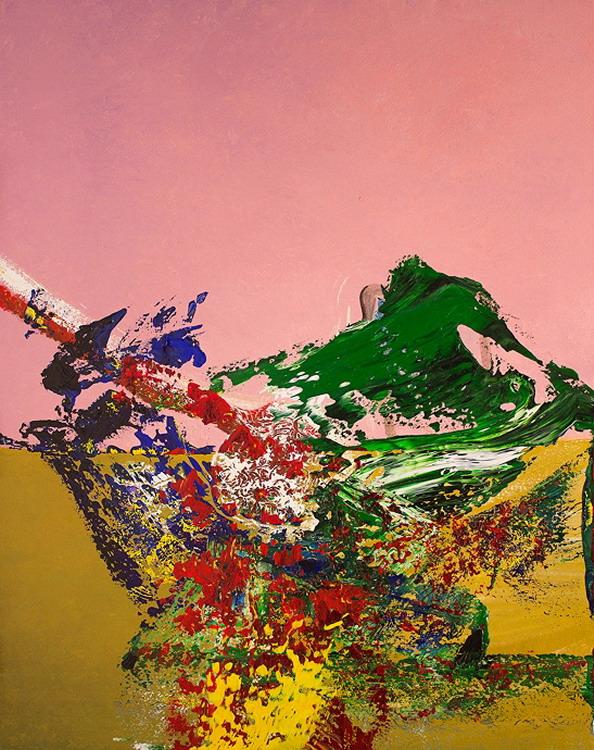 Cuadros pinturas oleos pinturas con renovados abstractos lienzos al leo - Pintura instinto ...