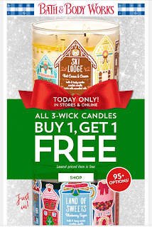 Bath & Body Works | Today's Email - November 15, 2019