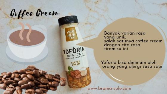 Yoforia coffee cream