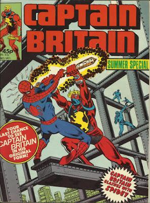 Captain Britain summer special 1981