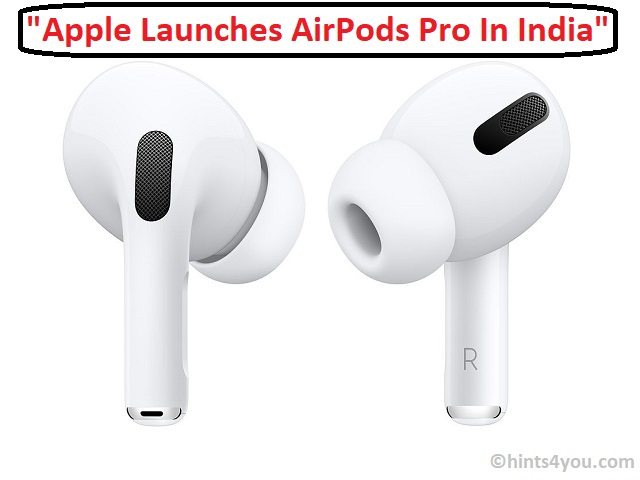 Apple AirPods Pro has been launched:
