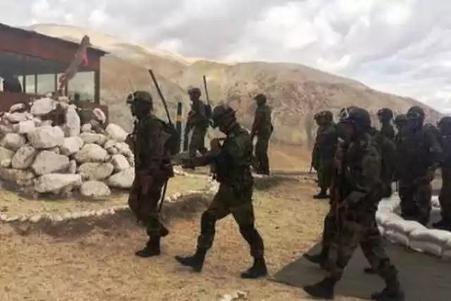 Indian Army troops at Ladakh (Doordarshan) (representative image)