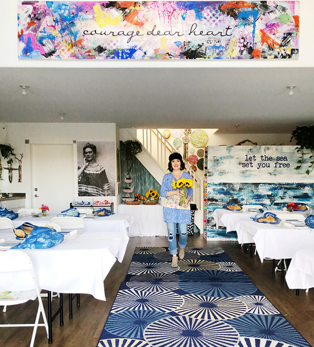 a peek inside the you, me & the sea retreat
