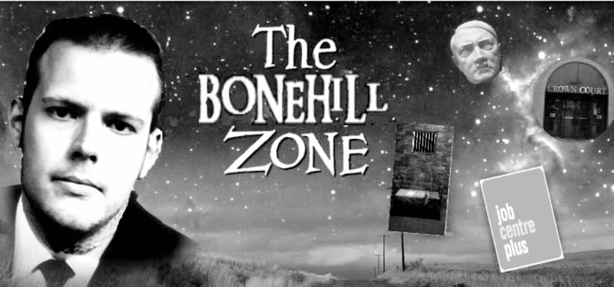 "Joshua Bonehill in ""The Bonehill Zone"" - Poster"