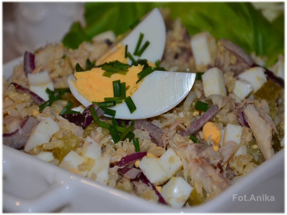 Domowa Kuchnia Aniki Salatka Z Wedzona Makrela