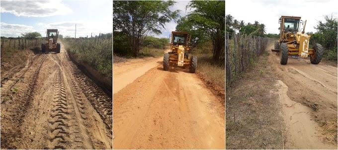 Prefeitura de Amparo inicia Programa de Recuperação das Estradas Vicinais