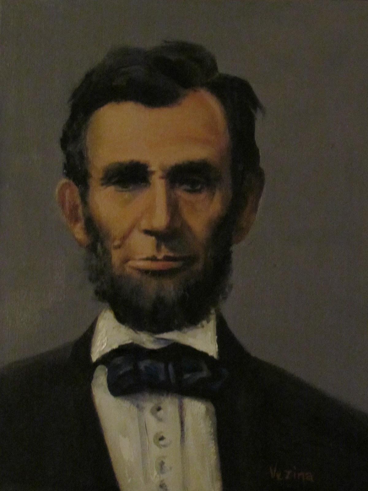 Maureen Vezina Art Blog: Presidential Portraits
