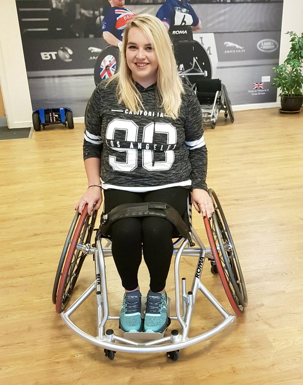 Roma Elite Pro Basketball Wheelchair