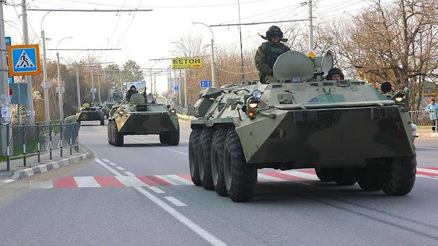 Rusya göstere göstere Kırım Hanlığını işgale devam ediyor