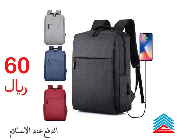 حقيبة كمبيوتر محمول الرجال النساء حقائب لأجهزة الكمبيوتر المحمول 15 بوصة بشاحن usb