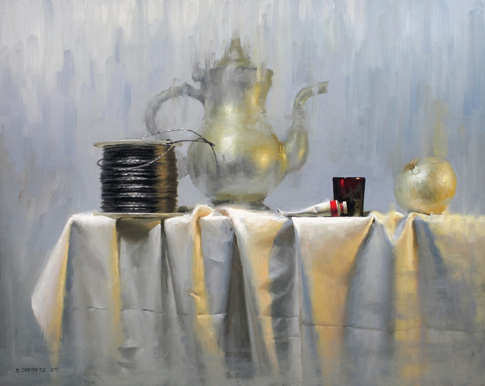 How To Paint Drapery In Oil