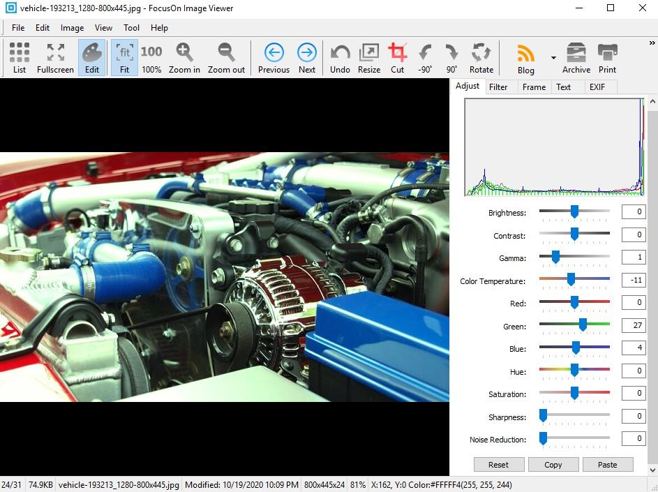 FocusOn برامج تشغيل الصور لويندوز 10
