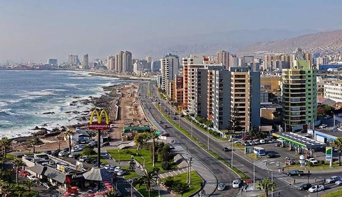 A view of Antofagasta, Chile.
