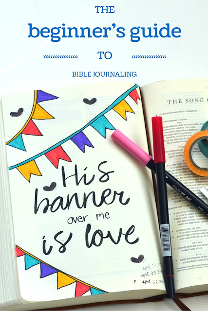 The beginners guide to Bible journaling