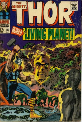 Thor #133, Ego, the living planet