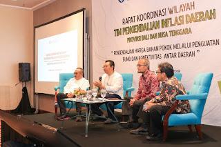 Jadi Pembicara di Rakorwil TPID Bali Nusra, Gubernur Bahas Industrialisasi