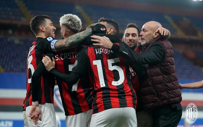 Il Milan vince e torna capolista